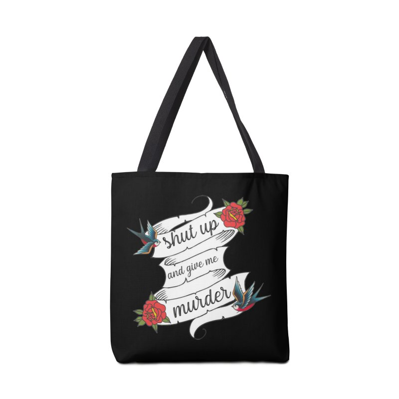 SUAGMM Tattoo Accessories Tote Bag Bag by True Crime Comedy Team Shop