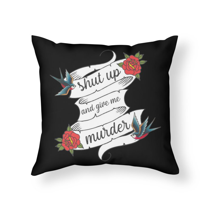 SUAGMM Tattoo Home Throw Pillow by True Crime Comedy Team Shop