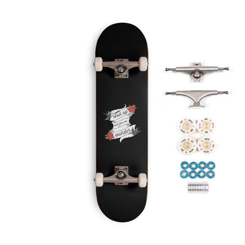 SUAGMM Tattoo Accessories Complete - Premium Skateboard by True Crime Comedy Team Shop