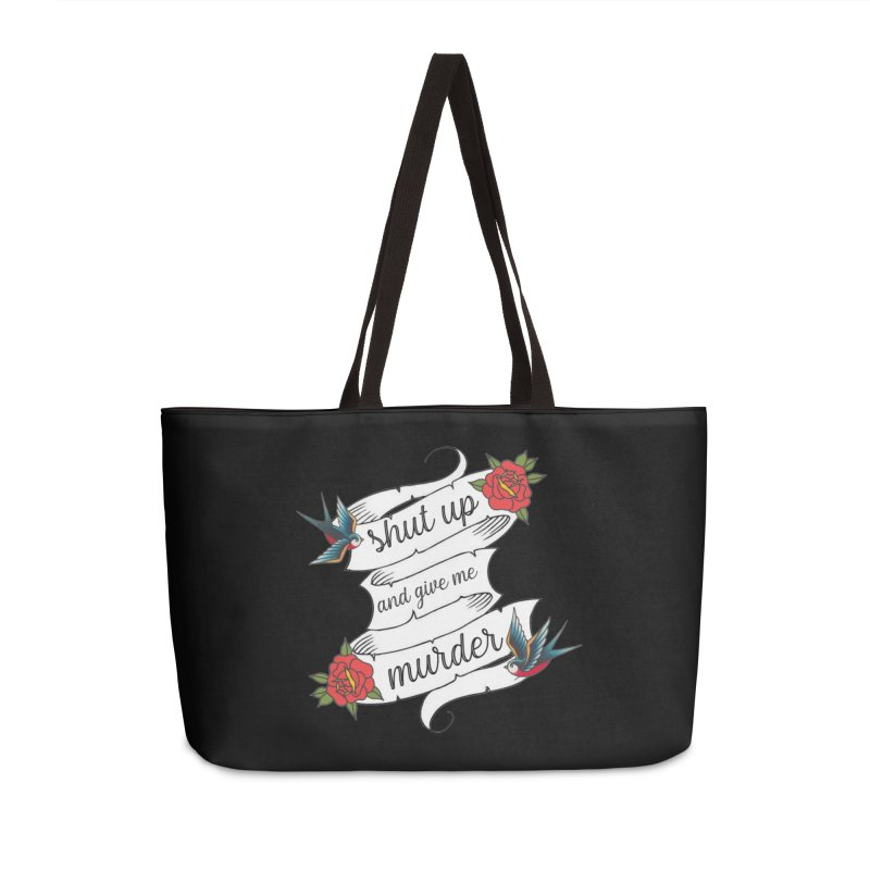 SUAGMM Tattoo Accessories Weekender Bag Bag by True Crime Comedy Team Shop