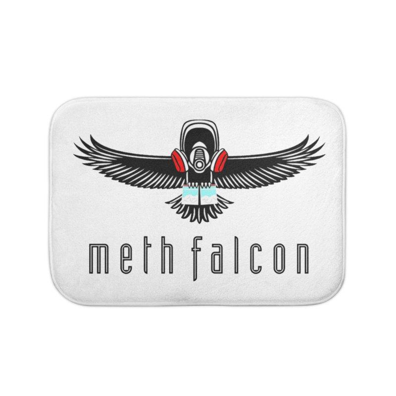 meth falcon Home Bath Mat by True Crime Comedy Team Shop