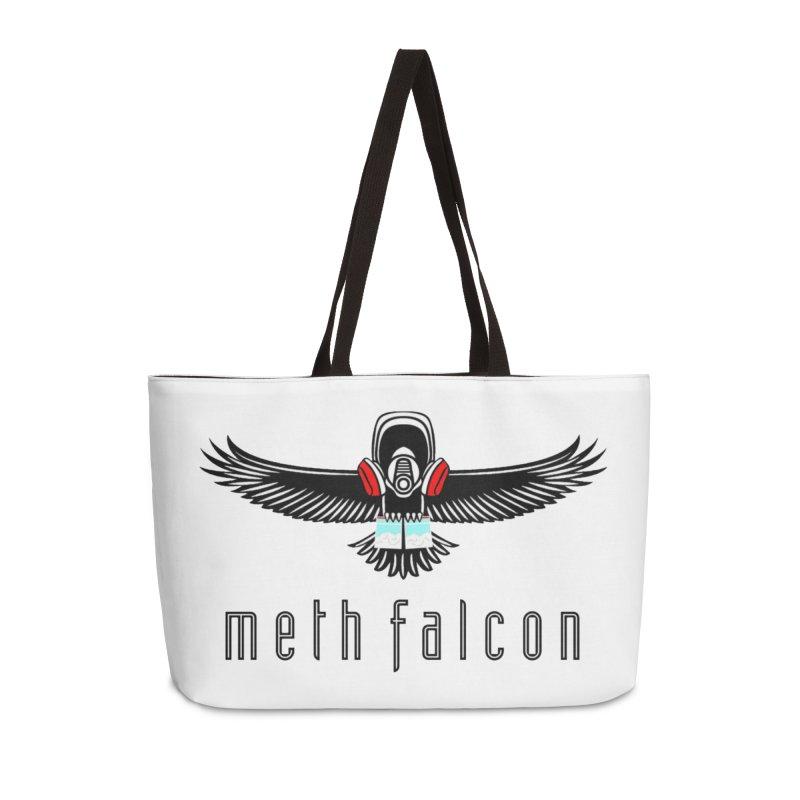 meth falcon Accessories Weekender Bag Bag by True Crime Comedy Team Shop
