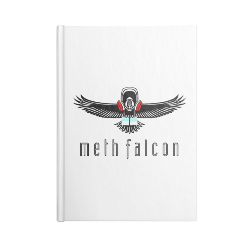 meth falcon Accessories Blank Journal Notebook by True Crime Comedy Team Shop
