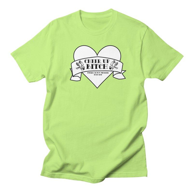 cheer up bitch Men's Regular T-Shirt by True Crime Comedy Team Shop
