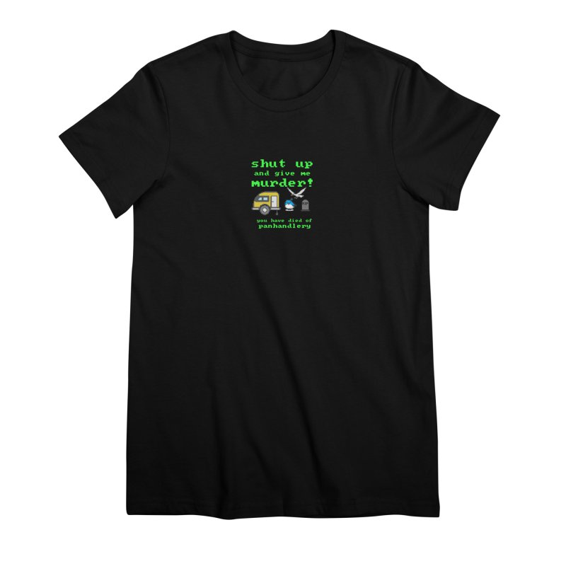 Panhandle Trail Women's Premium T-Shirt by True Crime Comedy Team Shop