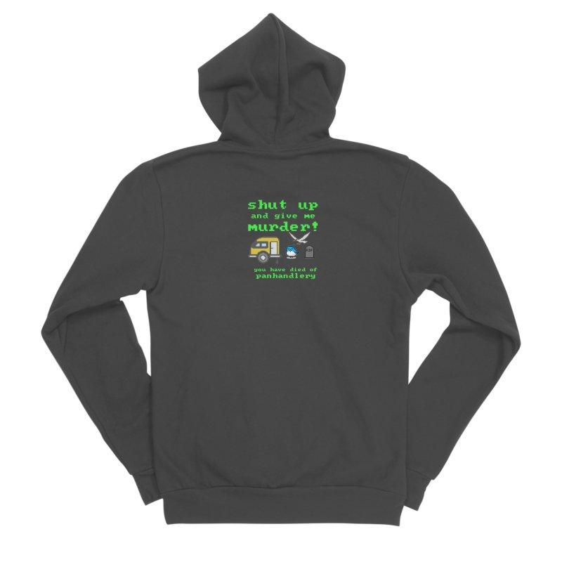 Panhandle Trail Men's Sponge Fleece Zip-Up Hoody by True Crime Comedy Team Shop