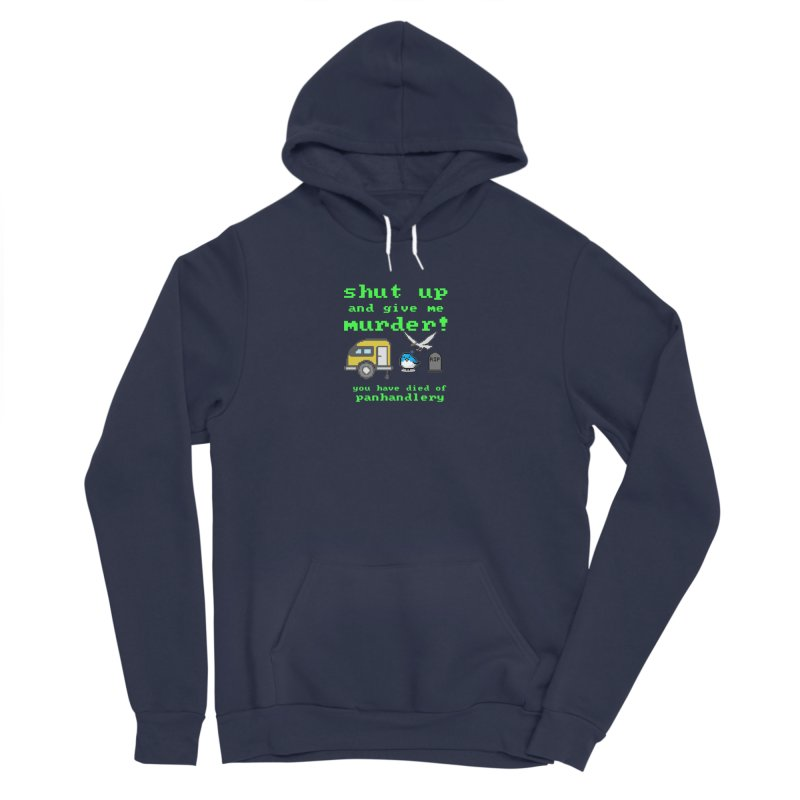 Panhandle Trail Men's Sponge Fleece Pullover Hoody by True Crime Comedy Team Shop