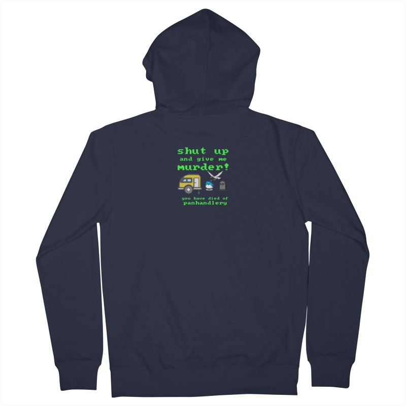 Panhandle Trail Men's French Terry Zip-Up Hoody by True Crime Comedy Team Shop