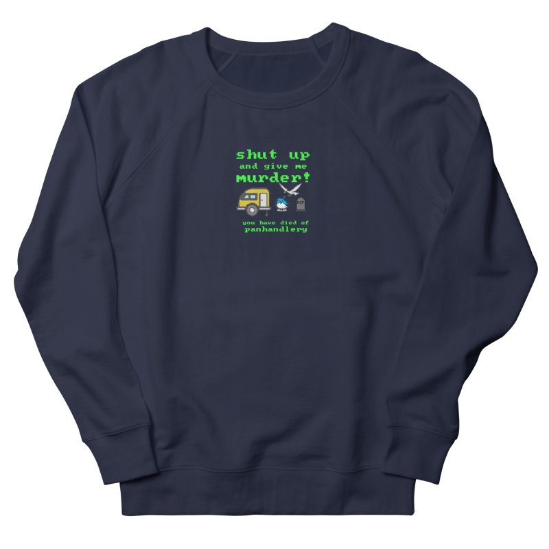 Panhandle Trail Men's French Terry Sweatshirt by True Crime Comedy Team Shop