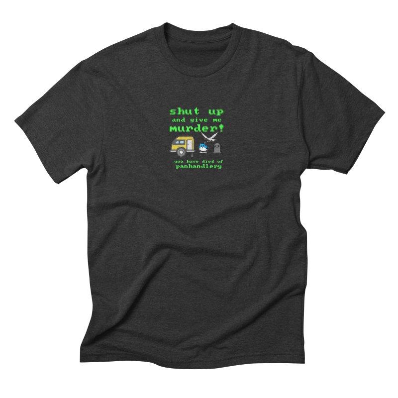 Panhandle Trail Men's Triblend T-Shirt by True Crime Comedy Team Shop