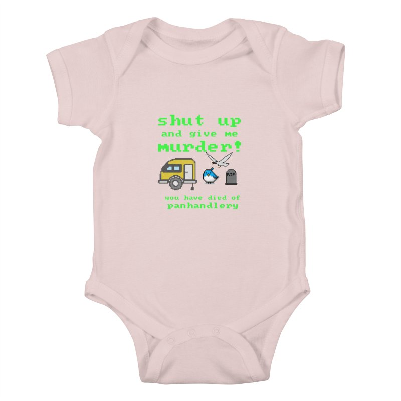 Panhandle Trail Kids Baby Bodysuit by True Crime Comedy Team Shop