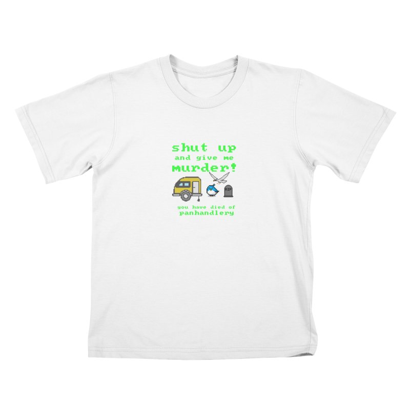 Panhandle Trail Kids T-Shirt by True Crime Comedy Team Shop