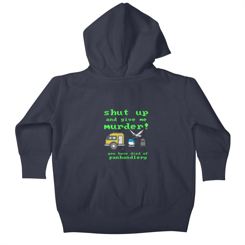 Panhandle Trail Kids Baby Zip-Up Hoody by True Crime Comedy Team Shop