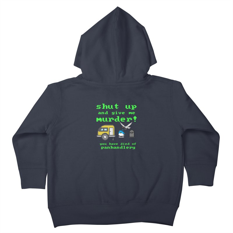 Panhandle Trail Kids Toddler Zip-Up Hoody by True Crime Comedy Team Shop