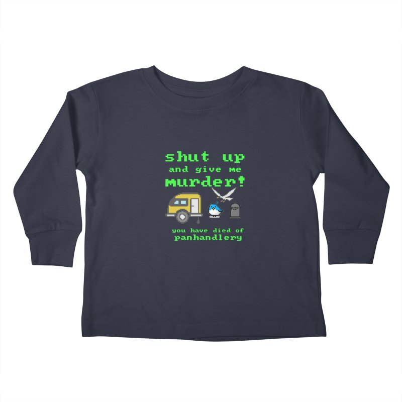 Panhandle Trail Kids Toddler Longsleeve T-Shirt by True Crime Comedy Team Shop