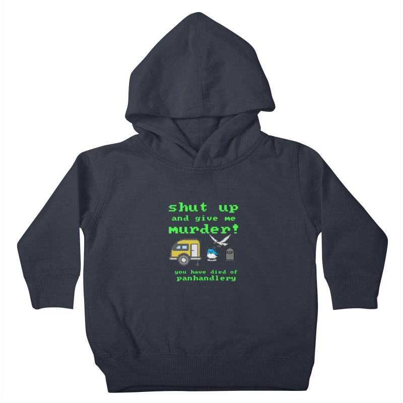 Panhandle Trail Kids Toddler Pullover Hoody by True Crime Comedy Team Shop