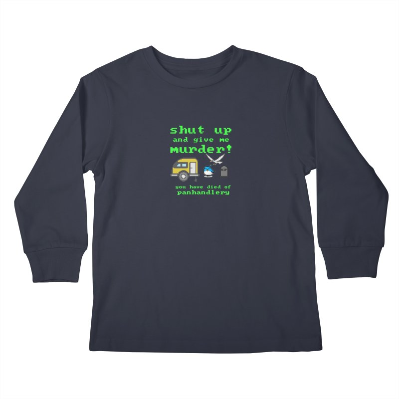 Panhandle Trail Kids Longsleeve T-Shirt by True Crime Comedy Team Shop