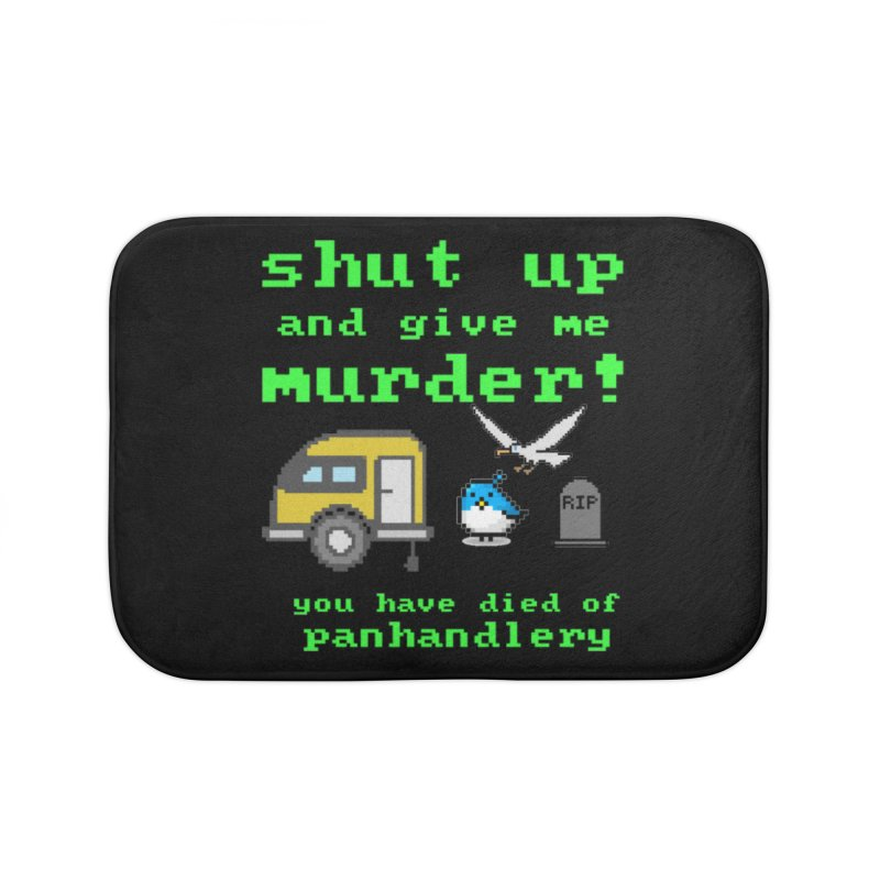 Panhandle Trail Home Bath Mat by Shut Up and Give Me Murder!