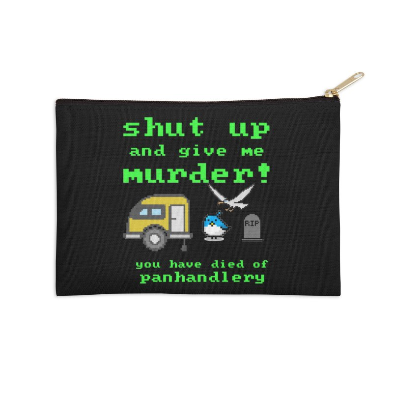 Panhandle Trail Accessories Zip Pouch by True Crime Comedy Team Shop