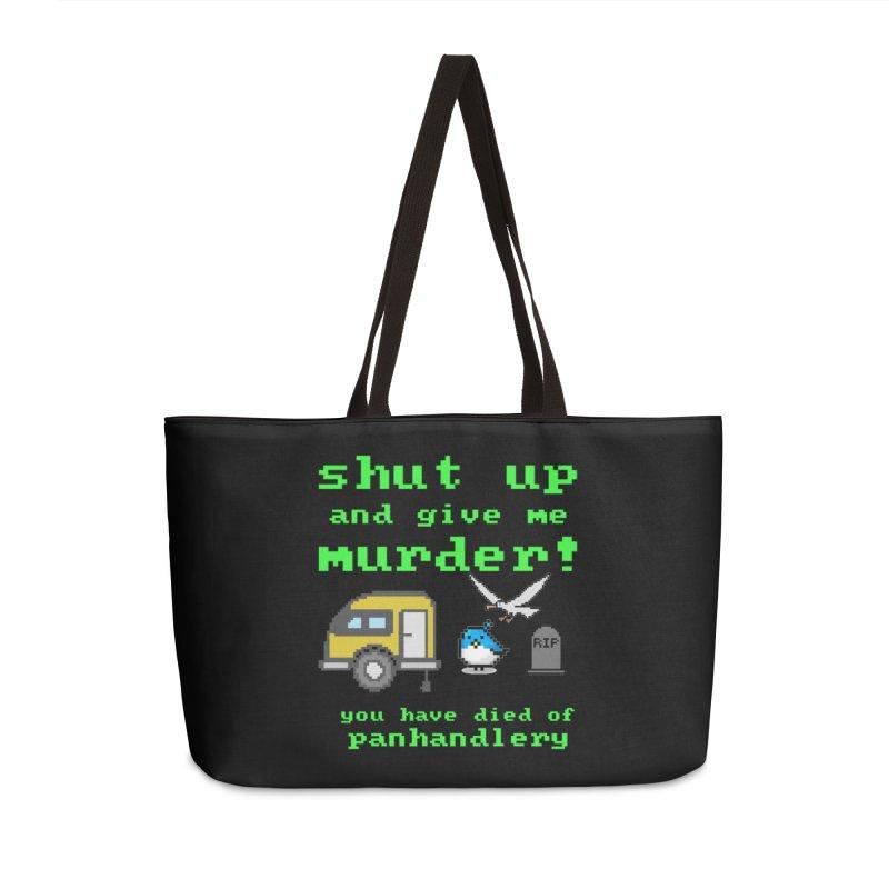 Panhandle Trail Accessories Weekender Bag Bag by True Crime Comedy Team Shop