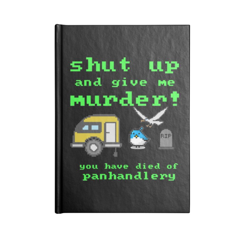 Panhandle Trail Accessories Blank Journal Notebook by True Crime Comedy Team Shop