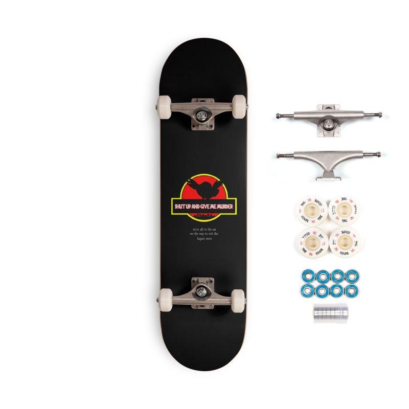 Jurassic Pocket Robin Accessories Complete - Premium Skateboard by True Crime Comedy Team Shop