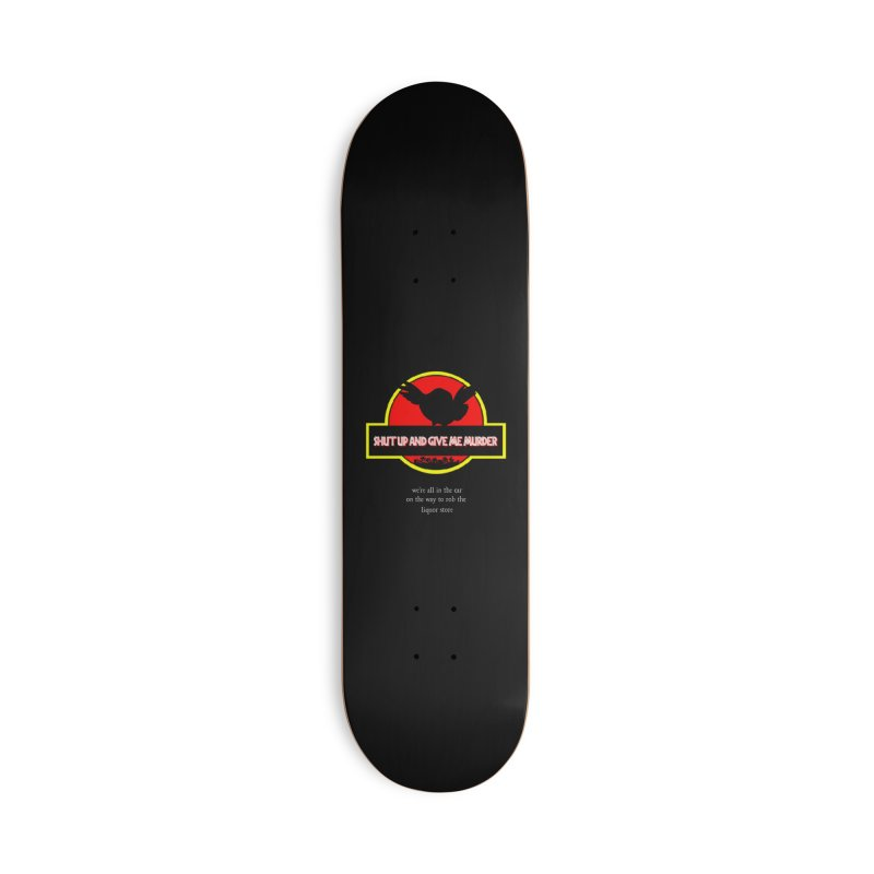 Jurassic Pocket Robin Accessories Deck Only Skateboard by True Crime Comedy Team Shop