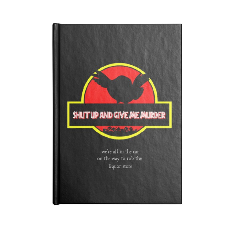 Jurassic Pocket Robin Accessories Lined Journal Notebook by True Crime Comedy Team Shop