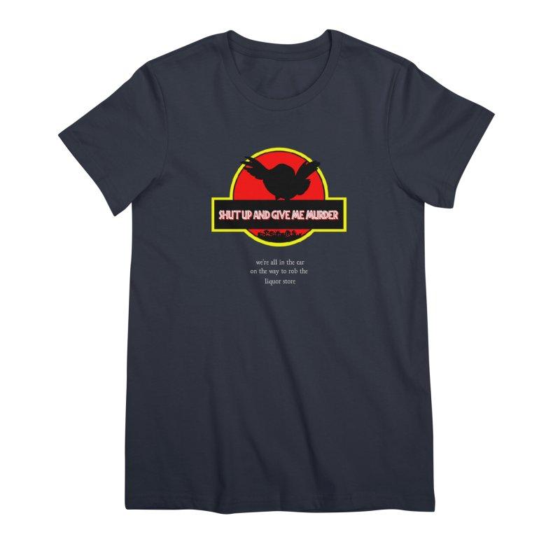Jurassic Pocket Robin Women's Premium T-Shirt by True Crime Comedy Team Shop