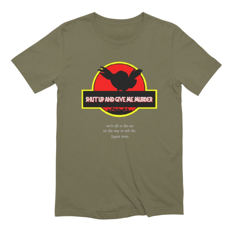 Jurassic Pocket Robin Men's Extra Soft T-Shirt by True Crime Comedy Team Shop