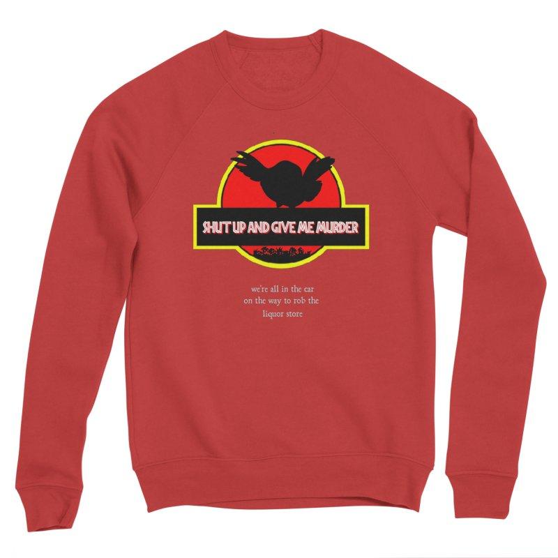 Jurassic Pocket Robin Women's Sponge Fleece Sweatshirt by True Crime Comedy Team Shop