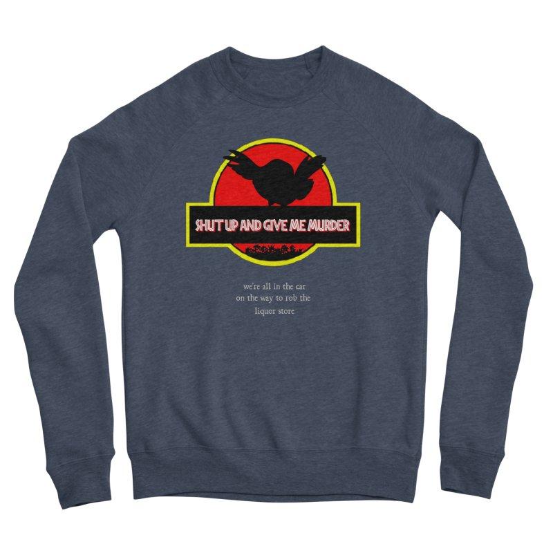 Jurassic Pocket Robin Men's Sponge Fleece Sweatshirt by True Crime Comedy Team Shop