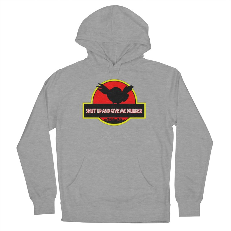 Jurassic Pocket Robin Men's French Terry Pullover Hoody by True Crime Comedy Team Shop