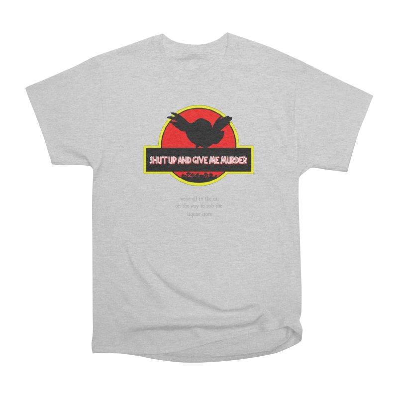 Jurassic Pocket Robin Men's Heavyweight T-Shirt by True Crime Comedy Team Shop