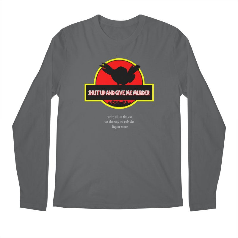 Jurassic Pocket Robin Men's Regular Longsleeve T-Shirt by True Crime Comedy Team Shop