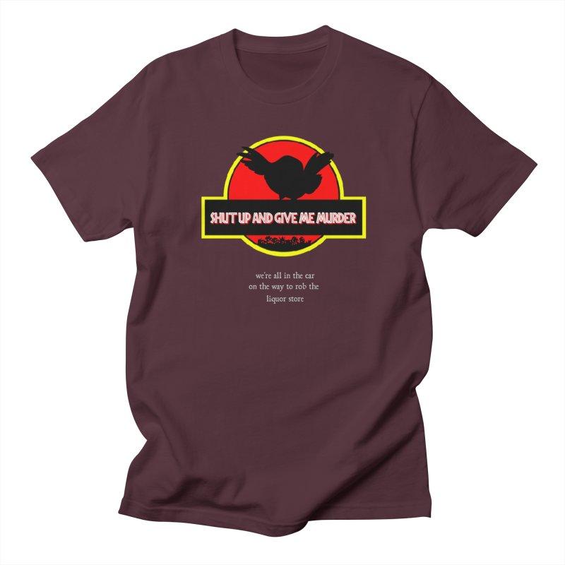 Jurassic Pocket Robin Men's Regular T-Shirt by True Crime Comedy Team Shop