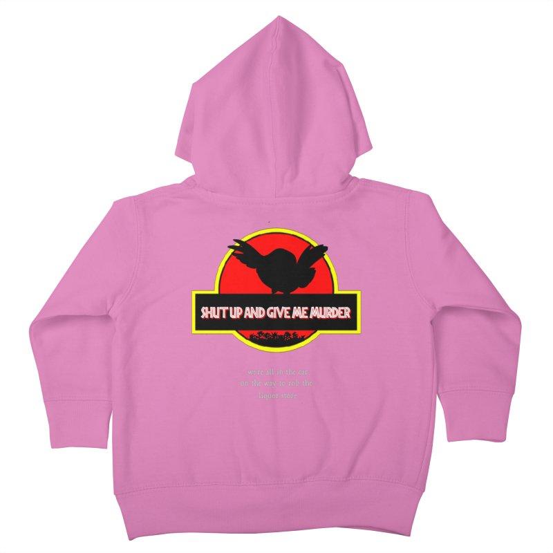 Jurassic Pocket Robin Kids Toddler Zip-Up Hoody by True Crime Comedy Team Shop