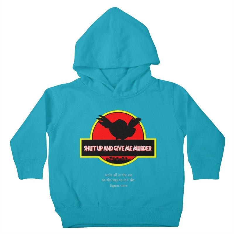 Jurassic Pocket Robin Kids Toddler Pullover Hoody by True Crime Comedy Team Shop