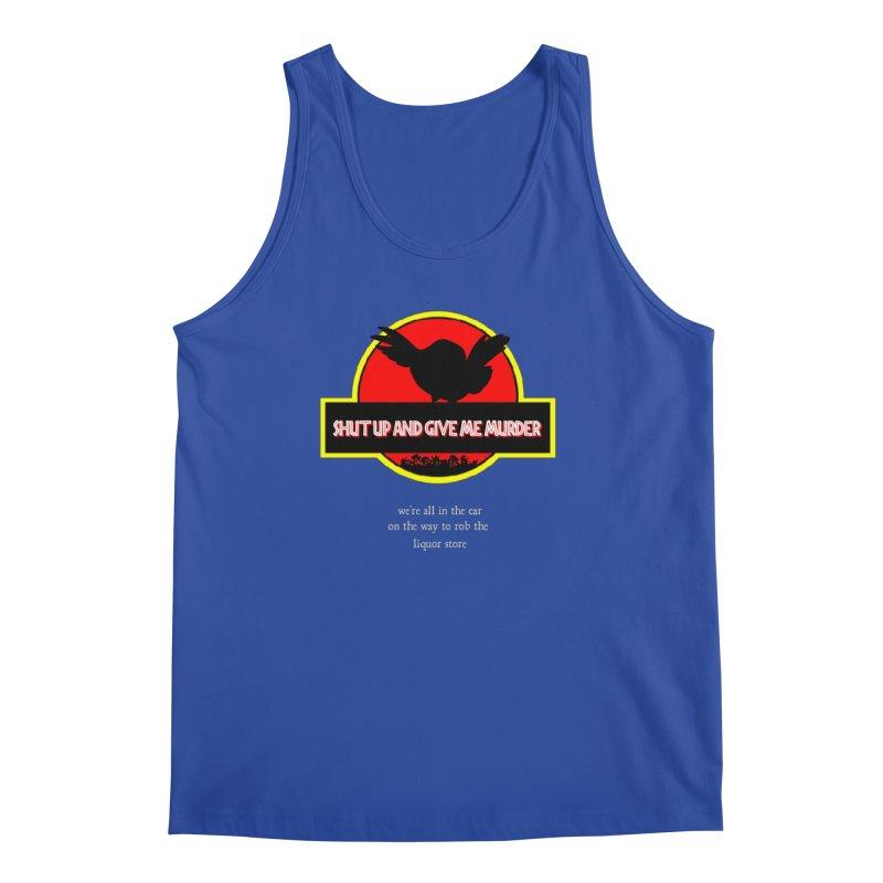 Jurassic Pocket Robin Men's Regular Tank by True Crime Comedy Team Shop
