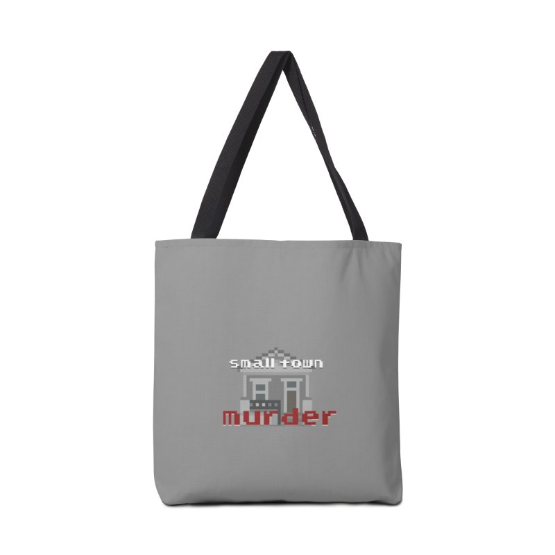 Small Town Murder 8bit Accessories Tote Bag Bag by True Crime Comedy Team Shop