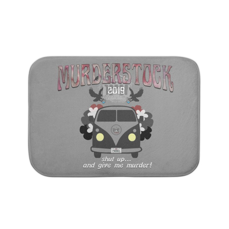 Murderstock Home Bath Mat by True Crime Comedy Team Shop