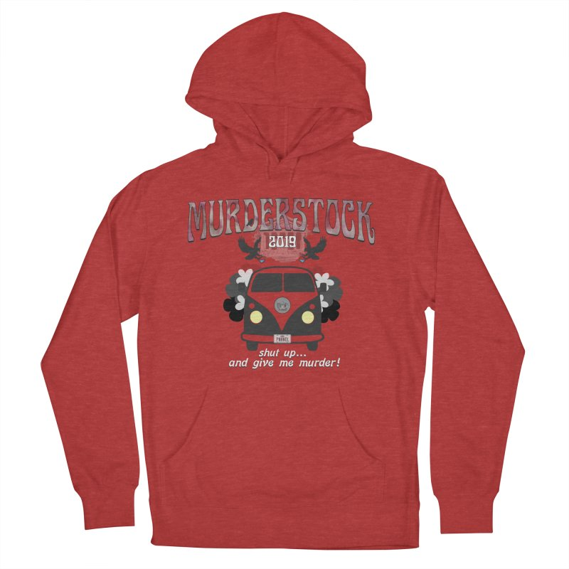 Murderstock Men's French Terry Pullover Hoody by True Crime Comedy Team Shop