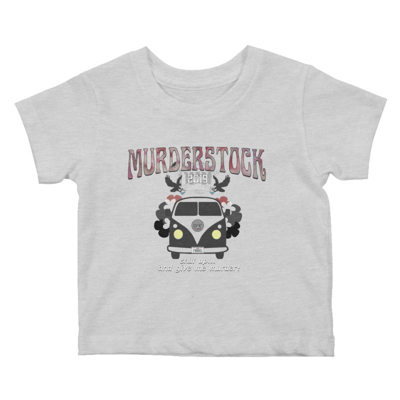 Murderstock Kids Baby T-Shirt by True Crime Comedy Team Shop
