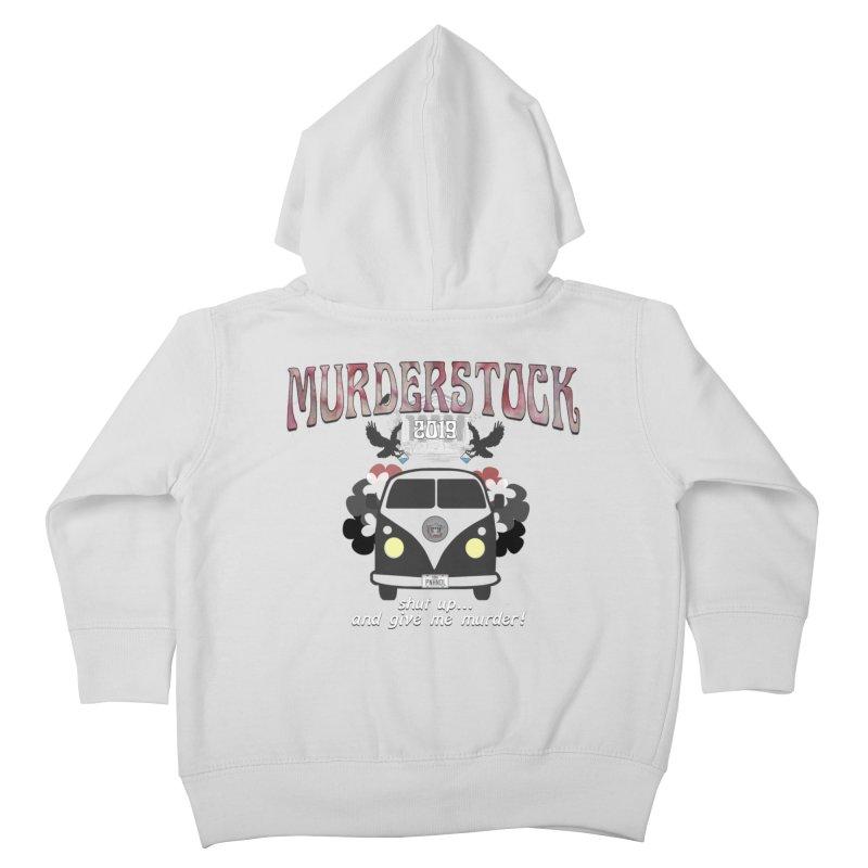 Murderstock Kids Toddler Zip-Up Hoody by True Crime Comedy Team Shop