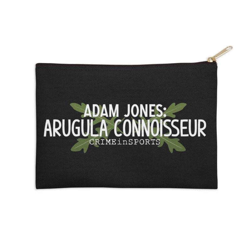 Arugula Connoisseur Accessories Zip Pouch by True Crime Comedy Team Shop