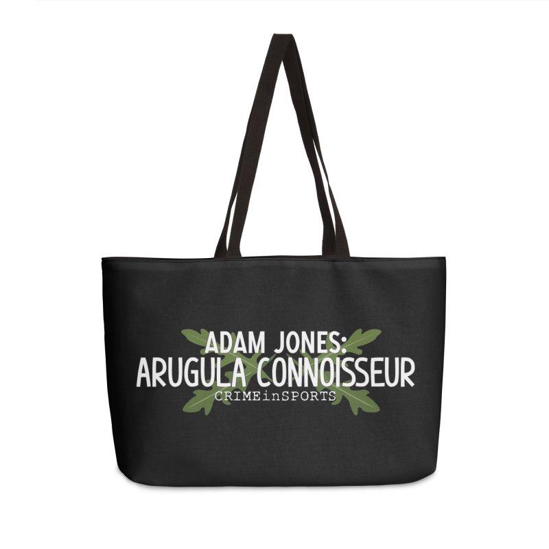 Arugula Connoisseur Accessories Weekender Bag Bag by True Crime Comedy Team Shop