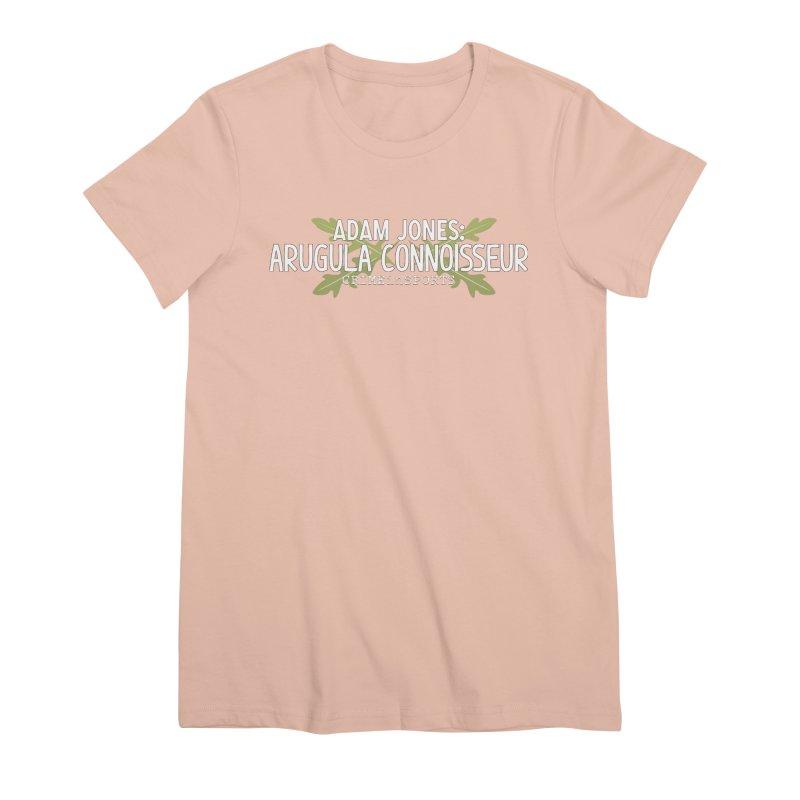Arugula Connoisseur Women's Premium T-Shirt by True Crime Comedy Team Shop