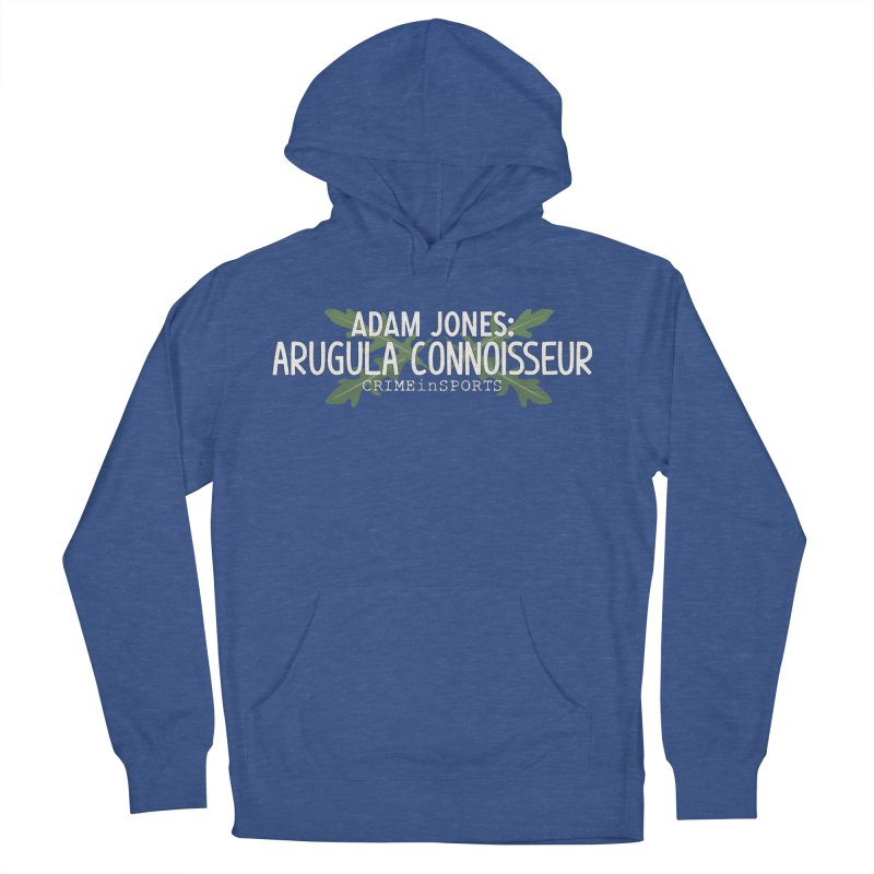 Arugula Connoisseur Women's French Terry Pullover Hoody by True Crime Comedy Team Shop