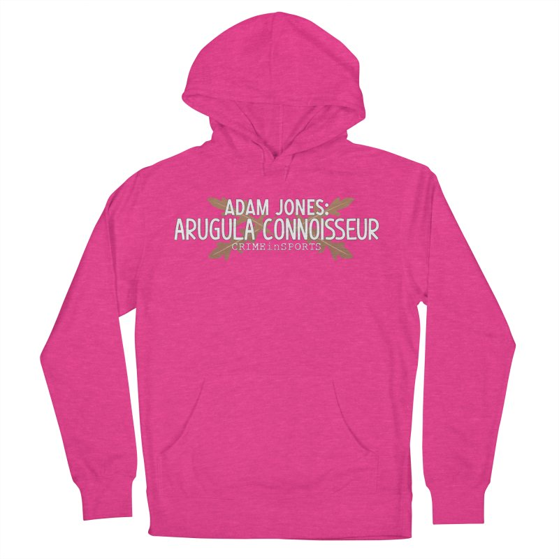 Arugula Connoisseur Men's French Terry Pullover Hoody by True Crime Comedy Team Shop