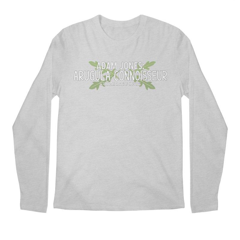 Arugula Connoisseur Men's Regular Longsleeve T-Shirt by True Crime Comedy Team Shop